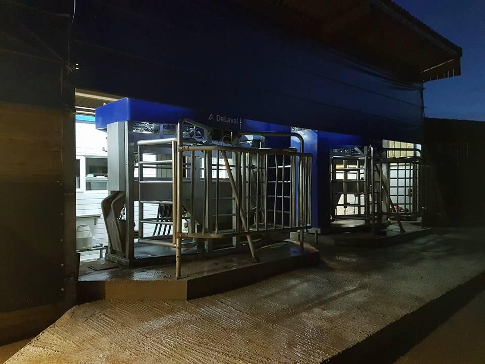 DeLaval VMS Milking Robots